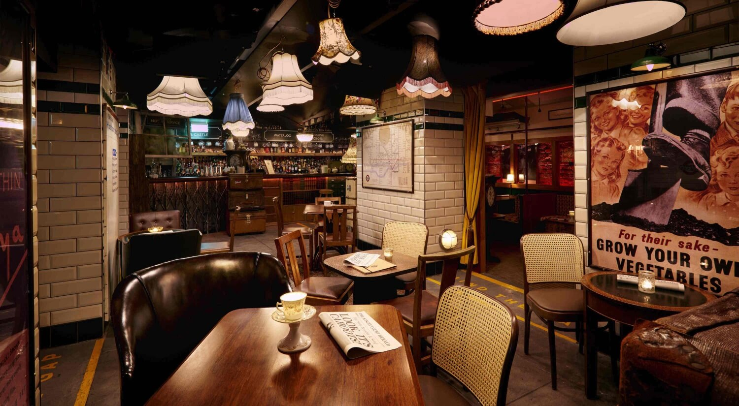 Cahoots Bar London — Cahoots: Party Like It's 1946