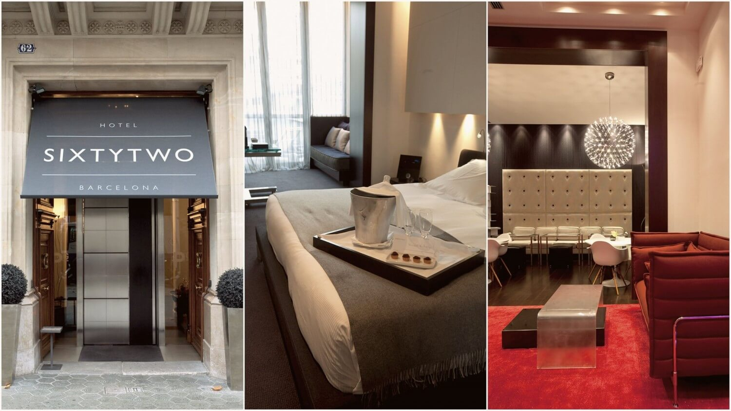 Sixtytwo Hotel Barcelona — Five Luxury Boutique Hotels in Barcelona